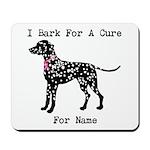 Shar Pei Personalizable I Bark For A Cure Mousepad