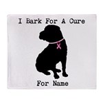 Shar Pei Personalizable I Bark For A Cure Stadium