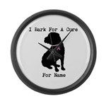 Shar Pei Personalizable I Bark For A Cure Large Wa