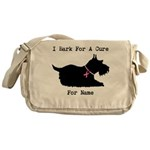 Pomeranian Personalizable I Bark For A Cure Messen