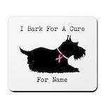 Pomeranian Personalizable I Bark For A Cure Mousep
