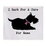 Scottish Terrier Personalizable I Bark For A Cure