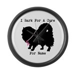 Pomeranian Personalizable I Bark For A Cure Large