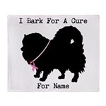 Pomeranian Personalizable I Bark For A Cure Stadi