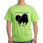 Pomeranian Personalizable I Bark For A Cure Green