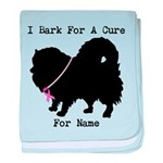 Pomeranian Personalizable I Bark For A Cure baby b