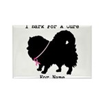 Pomeranian Personalizable I Bark For A Cure Rectan