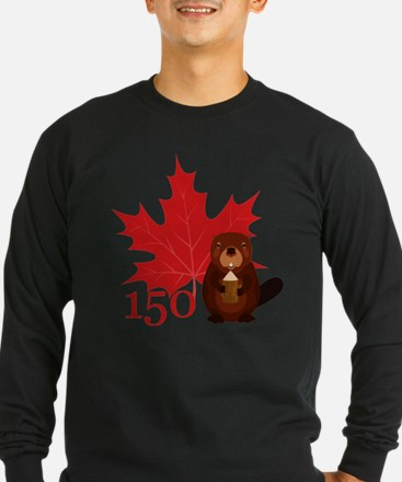 Canada 150 - Beaver Long Sleeve T-Shirt