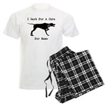 Pointer Personalizable I Bark For A Cure Men's Lig