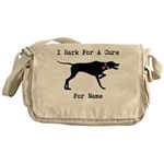 Pointer Personalizable I Bark For A Cure Messenger