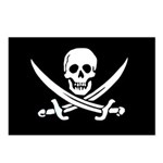 Jolly Roger Postcards (Package of 8)