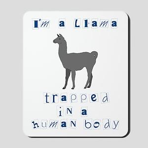 I'm a Llama Mousepad