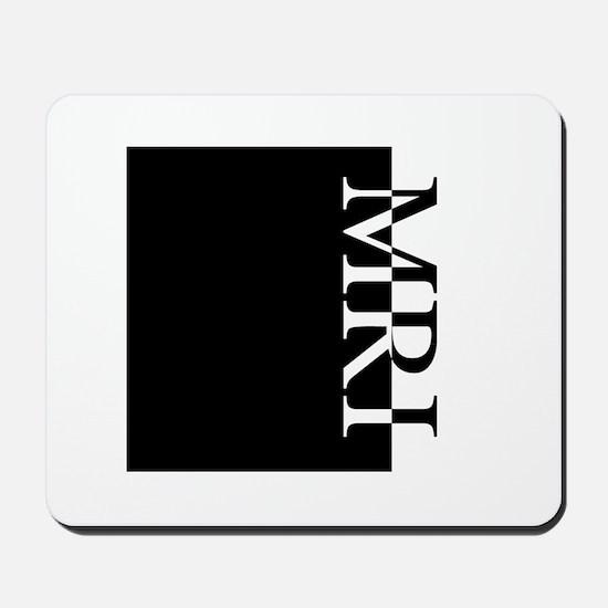 MRI Typography Mousepad
