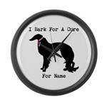 Irish Setter Personalizable I Bark For A Cure Larg