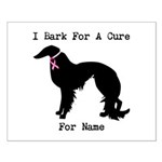 Irish Setter Personalizable I Bark For A Cure Smal