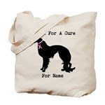 Irish Setter Personalizable I Bark For A Cure Tote