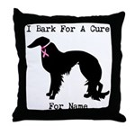 Irish Setter Personalizable I Bark For A Cure Thro