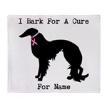 Irish Setter Personalizable I Bark For A Cure Sta