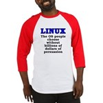 Linux: The OS people - Baseball Jersey