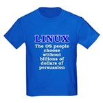 Linux: The OS people - Kids Dark T-Shirt