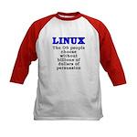 Linux: The OS people - Kids Baseball Jersey