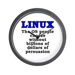Linux: The OS people - Wall Clock