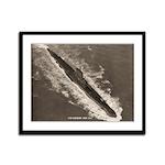 USS BASHAW Framed Panel Print