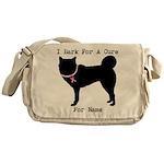 Siberian Husky Personalizable I Bark For A Cure Me