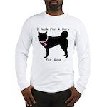 Siberian Husky Personalizable I Bark For A Cure Lo