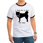 Greyhound Personalizable I Bark For A Cure Ringer