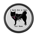 Siberian Husky Personalizable I Bark For A Cure La