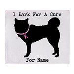 Siberian Husky Personalizable I Bark For A Cure S