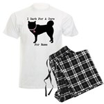 Greyhound Personalizable I Bark For A Cure Men's L