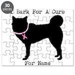 Siberian Husky Personalizable I Bark For A Cure Pu