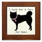 Siberian Husky Personalizable I Bark For A Cure Fr