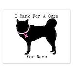 Siberian Husky Personalizable I Bark For A Cure Sm