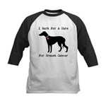 Greyhound Personalizable I Bark For A Cure Kids Ba