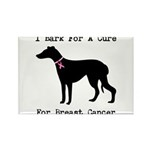 Great Dane Personalizable I Bark For A Cure Rectan