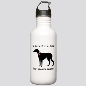 Greyhound Personalizable I Bark For A Cure Stainle