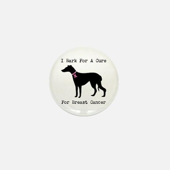 Greyhound Personalizable I Bark For A Cure Mini Bu