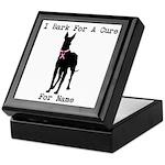Great Dane Personalizable I Bark For A Cure Keepsa