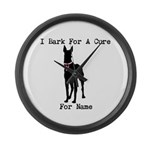 Great Dane Personalizable I Bark For A Cure Large