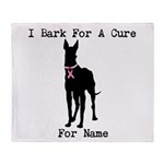 Great Dane Personalizable I Bark For A Cure Stadi