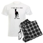 Great Dane Personalizable I Bark For A Cure Men's