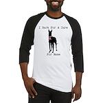 Great Dane Personalizable I Bark For A Cure Baseba