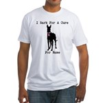 Great Dane Personalizable I Bark For A Cure Fitted