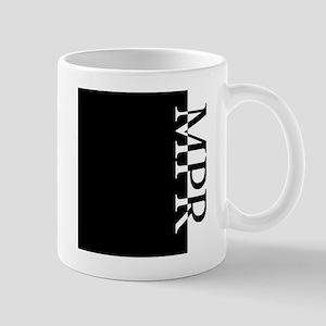 MPR Typography Mug