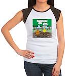 KNOTS Camping Cookies Women's Cap Sleeve T-Shirt