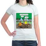 KNOTS Camping Cookies Jr. Ringer T-Shirt