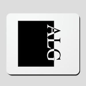 ALG Typography Mousepad